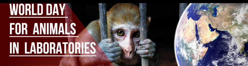 World day for animals in laboratories