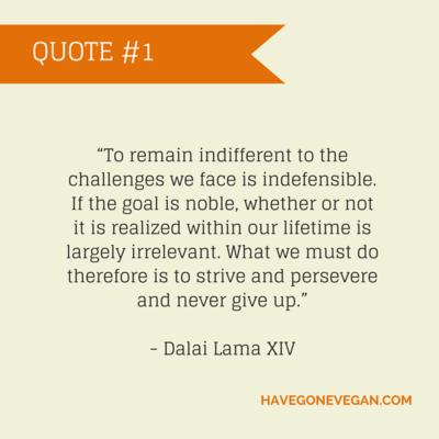 QUOTE #1 Dalai Lama XIV