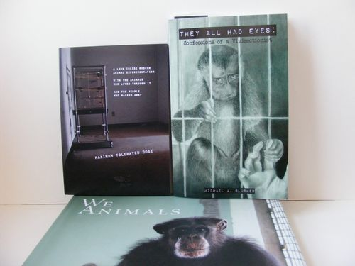 books and DVD on animal experimentation