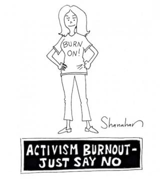 Activism burnout